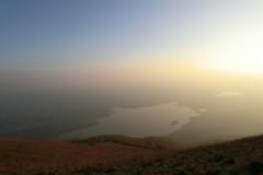 Panorama del lago di Pusiano